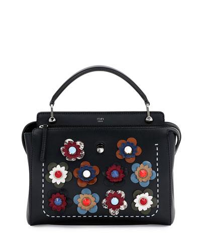Fendi Bag With Flowers