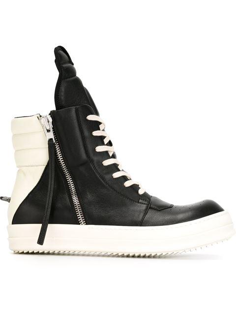 Geobasket High-Top Sneakers - Black Size 7 M