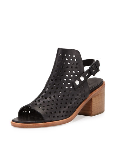 Rag & Bone Leather Perforated Sandals