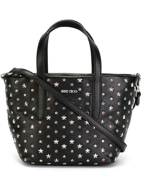 Mini 'Sara' Tote, Black