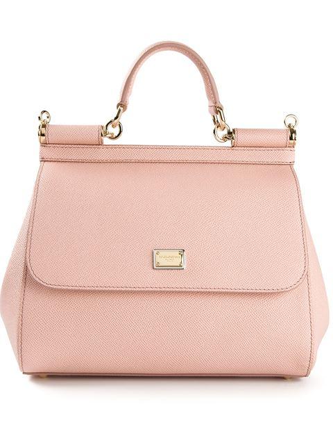 Medium Sicily Bag, Pink & Purple