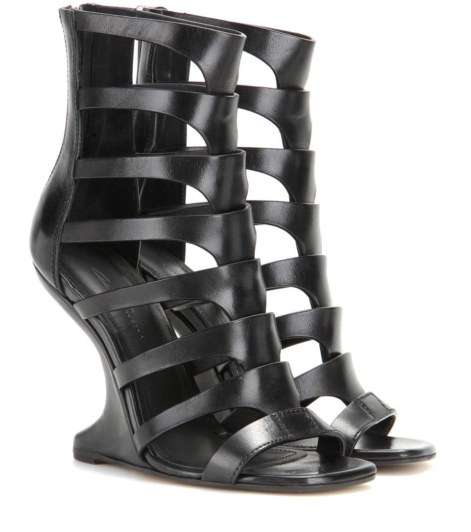 Nautilus Cantilevered sandals - Black Rick Owens UUKO7lY