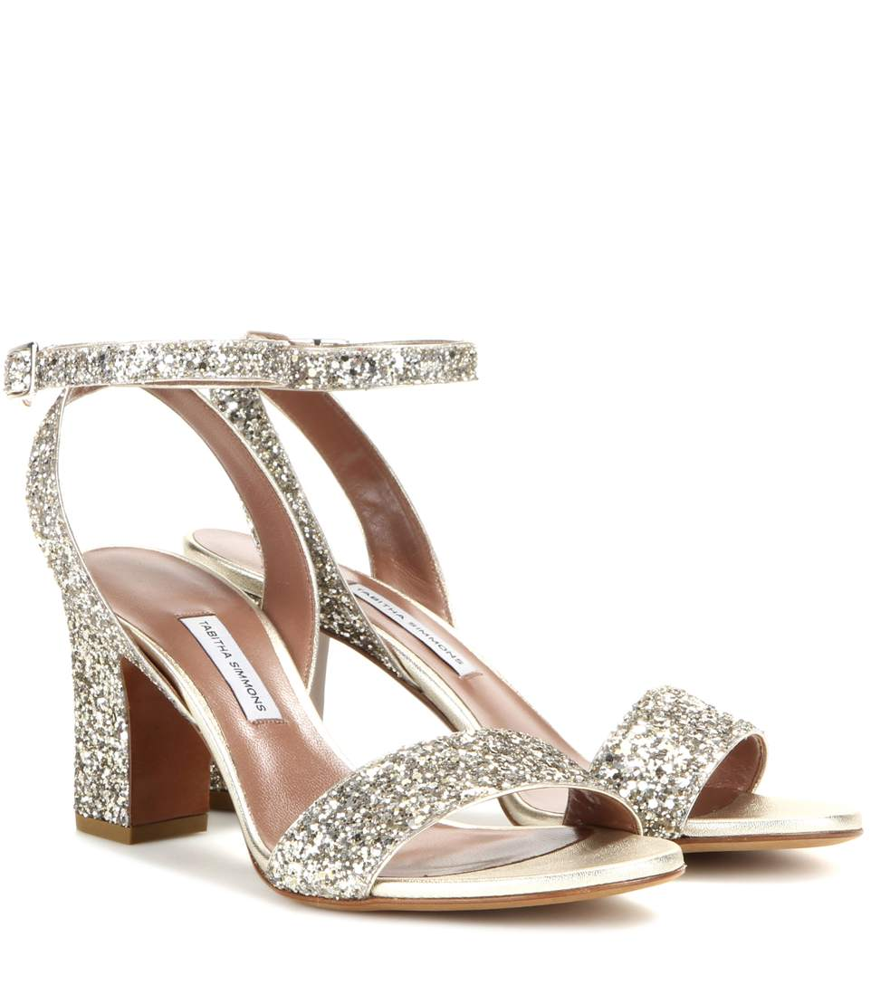 Exclusif À Mytheresa.com - Leticia Sandales Glitter Tabitha Simmons Y2XVN673a