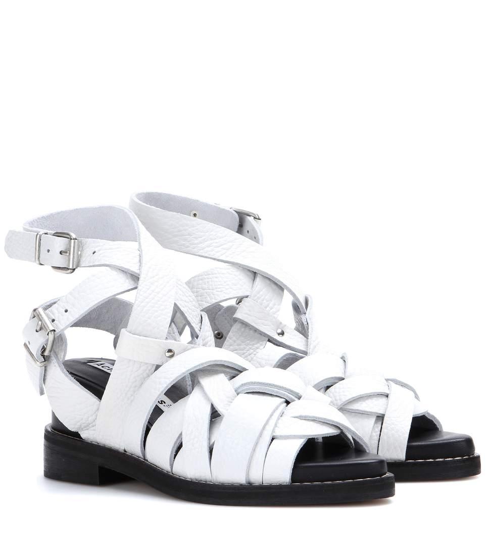 Acne Studios Lenna Multistrap Sandals