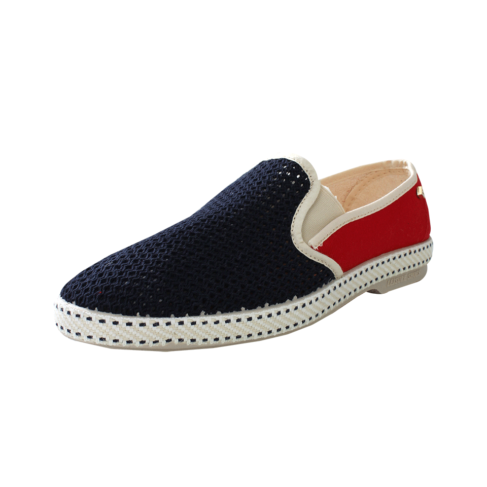RIVIERAS Tour Du Monde Slip-On Canvas Loafers in France