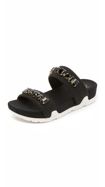 Great Deals On Hot Sale Ash Embellished Slide Sandals Release Dates Cheap Online 6UBVvs