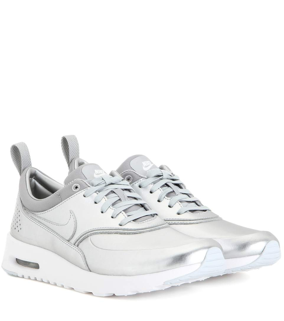 NIKE Women'S Air Max Thea Se Running Sneakers From Finish Line, Silver  Metallic