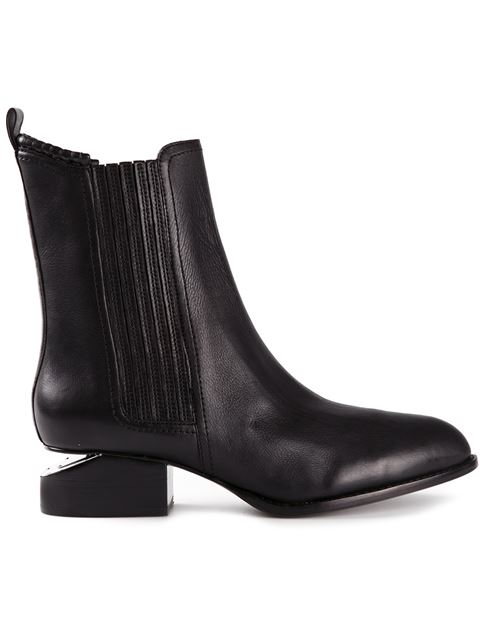Anouck Boot With Rose Gold in Black from LOIT