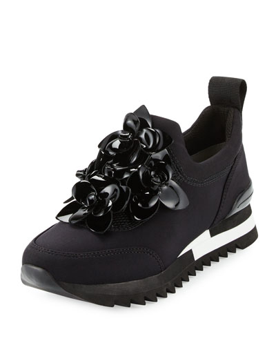 db678fb3f1db TORY BURCH Blossom Neoprene Sneaker