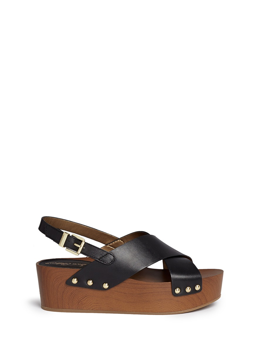 discount 2015 new official sale online Sam Edelman buckled flatform sandals footlocker finishline online free shipping for sale 6p79z