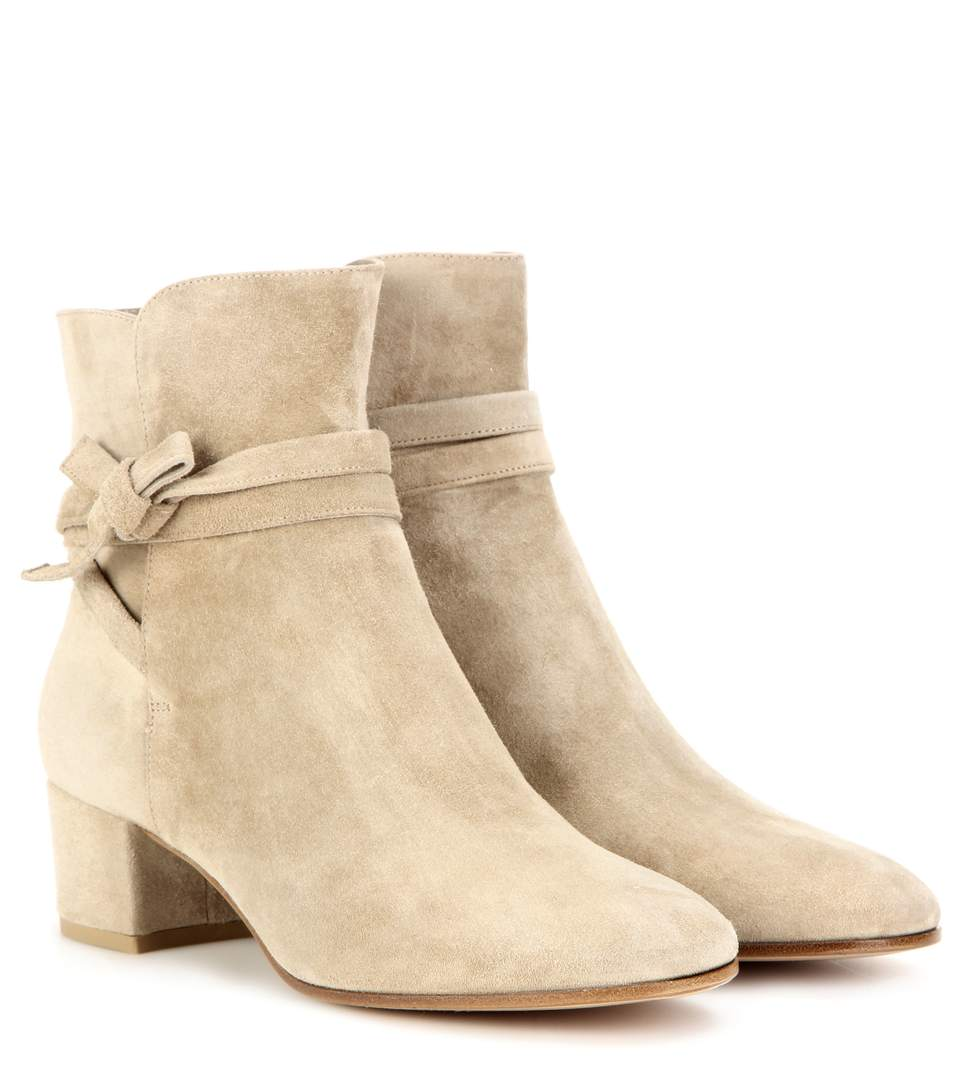 Gianvito Rossi Moore Suede Ankle Boots 62KNDZW5E4