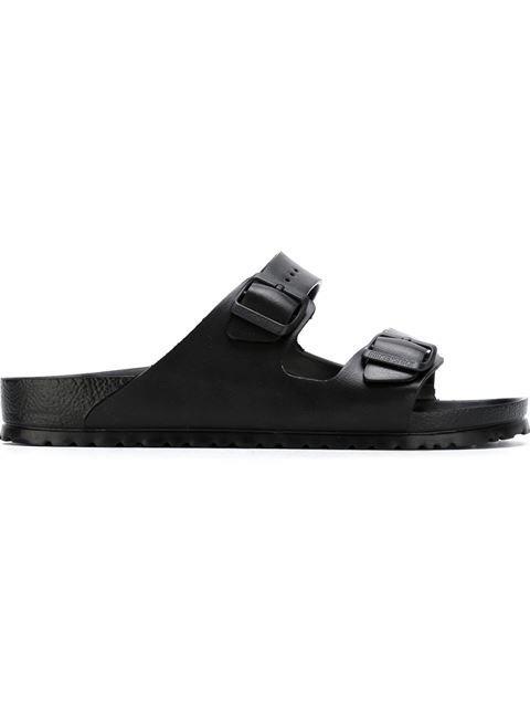 'Essentials - Arizona Eva' Waterproof Slide Sandal (Men), Black from EAST DANE