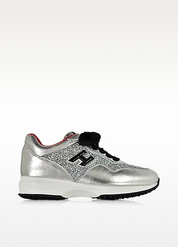 Silver Interactive Sneakers Hogan cw8A6Aq