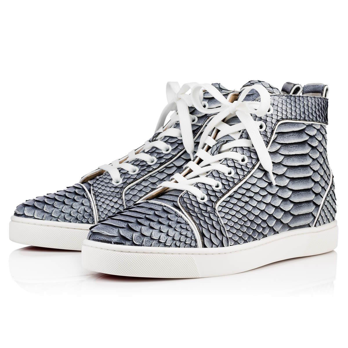 christian louboutin mens python shoes