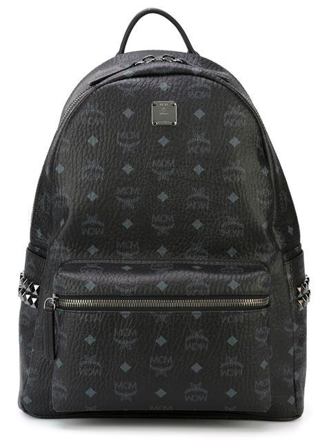 MCM 'Stark' Medium Backpack  in Black