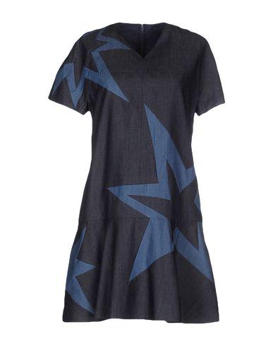 ELLE SASSON Denim Dress in Blue
