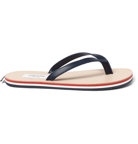 Thom BrowneLeather Flip Flops