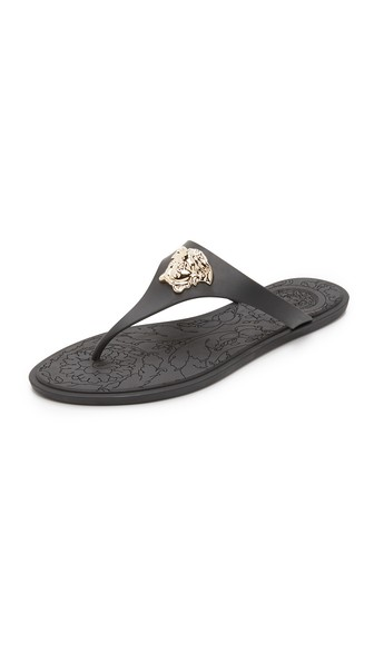 2015 for sale Versace Medusa Palazzo Thong Sandal buy online authentic discount cheap online 100% guaranteed clearance footlocker tB1fTW