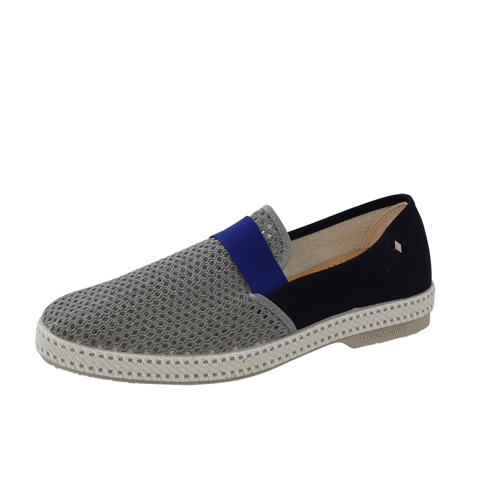 RIVIERAS Pavillon Mike 20 Loafer in Gry-Nvy