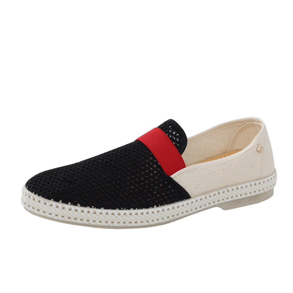 RIVIERAS Pavillion Victor 10 Loafer in Blk-Wht