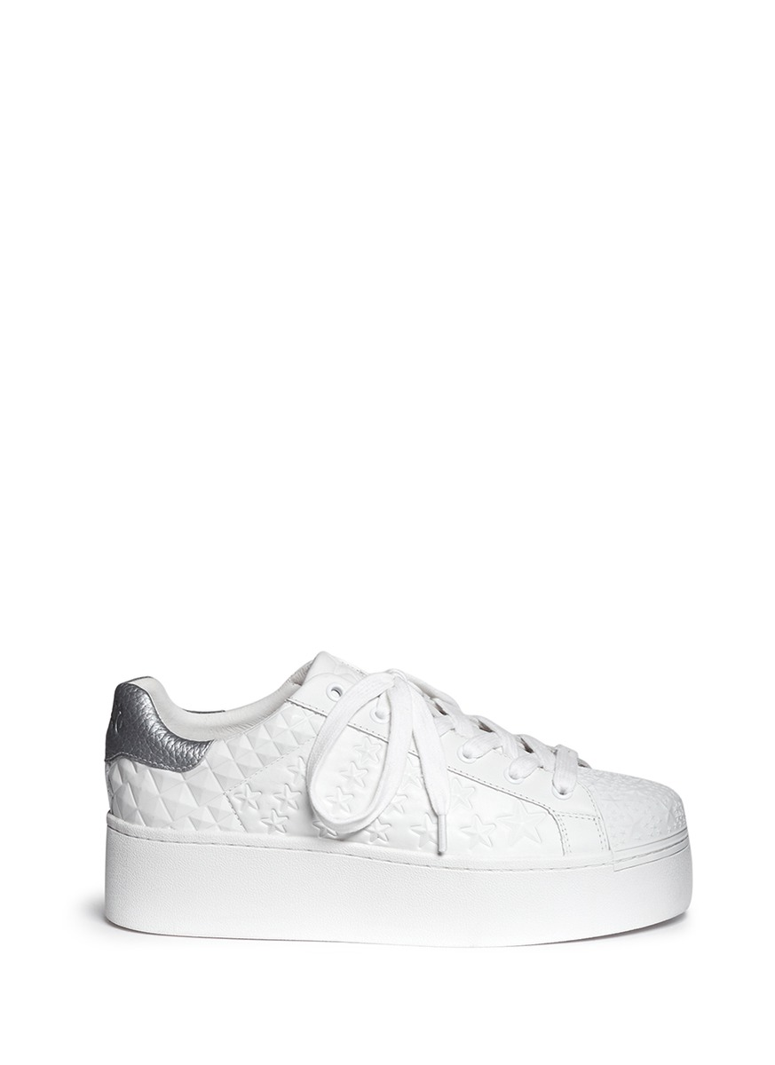 Ash Embossed Platform Sneakers Recommend Cheap Online Cheap Super Clearance With Credit Card fi3DWEVySW