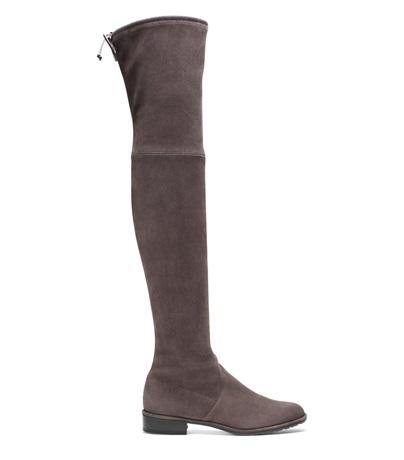 The Lowland Boot, Londra Medium Gray Suede