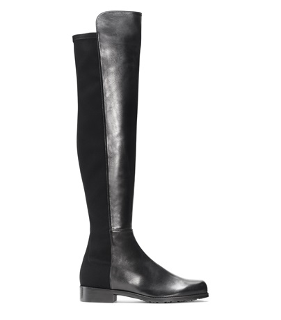 The 5050 Boot, Black Nappa Leather