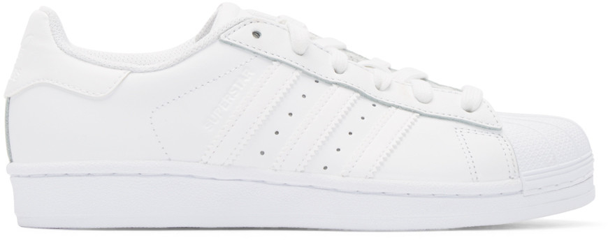 Adidas Women'S Superstar Casual Sneakers From Finish Line, White