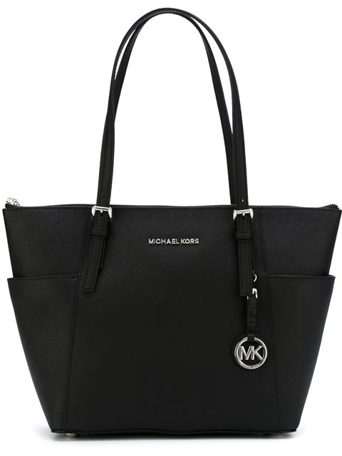 Michael Michael Kors Jet Set Large Tote - Black