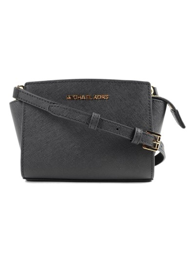 a8e4e4a8dd90 ... reduced bag tradesy michael kors selma medium black saffiano leather  messenger d50ca b60bd