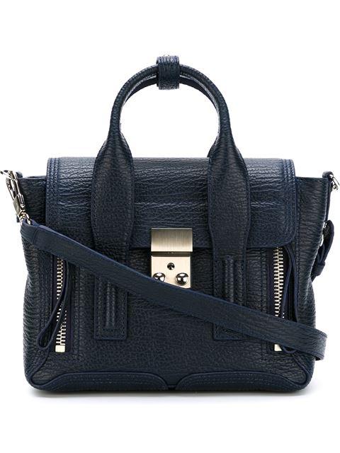 Pashli Mini Leather Shoulder Bag, Blue