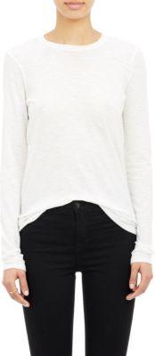 PROENZA SCHOULER Classic Long-Sleeve T-Shirt, White
