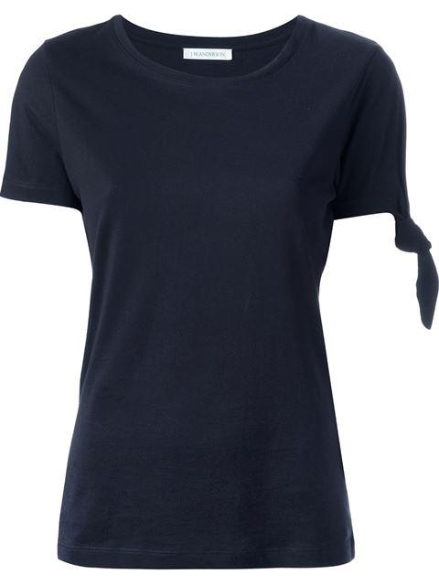 Jw Anderson Knot Detail T-Shirt - Black