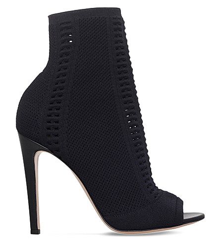 New And Fashion Gianvito Rossi Knit Ankle Boots Free Shipping Limited Edition nHC6SbvjK