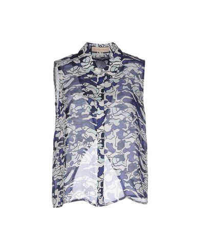 ELLE SASSON Patterned Shirts & Blouses in Blue