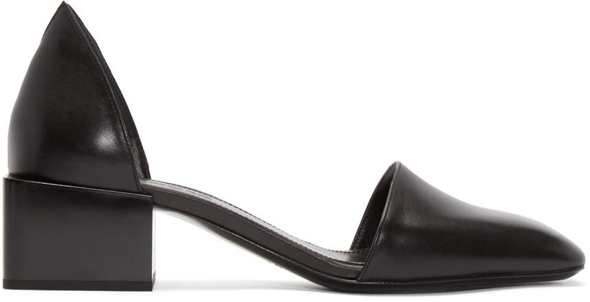 Jil Sander Block heel pumps Outlet Clearance Store Sale Extremely Buy Cheap Ebay For Nice Sale Online VSJUcU1h0
