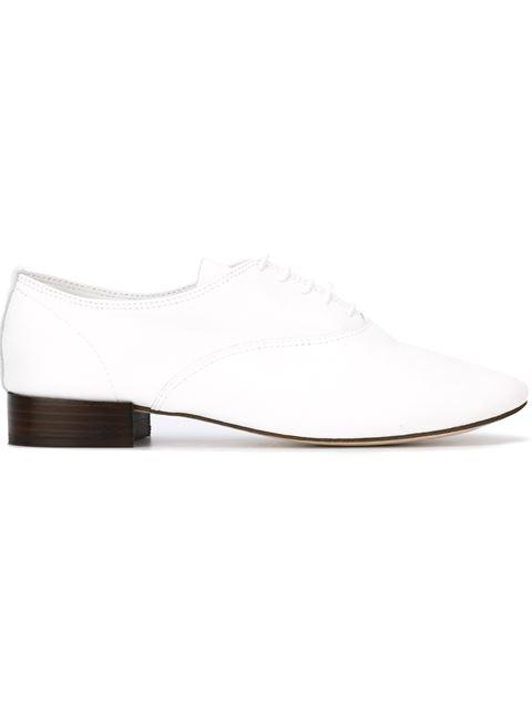'Zizi' Oxford Shoes, White