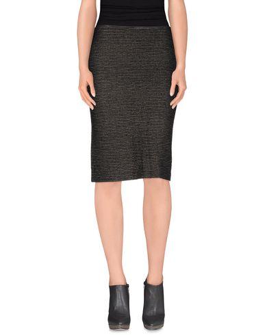 KOOKAI Knee Length Skirt in Black
