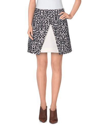 CAMEO Mini Skirt in Light Grey
