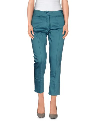 ANNA SAMMARONE Casual Pants in Deep Jade