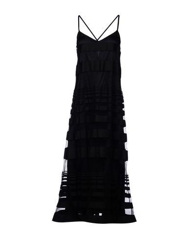 AGAIN Midi Dress in Black