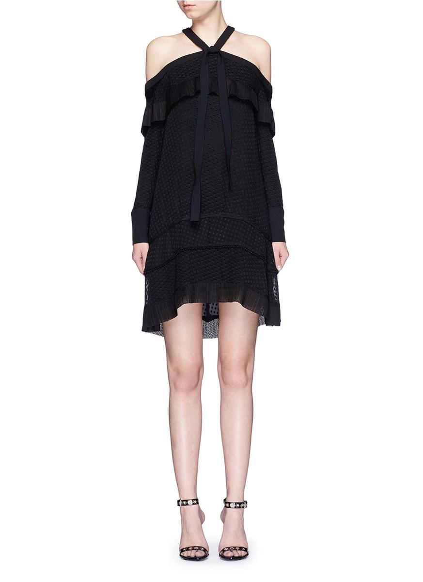 Proenza schouler dress black