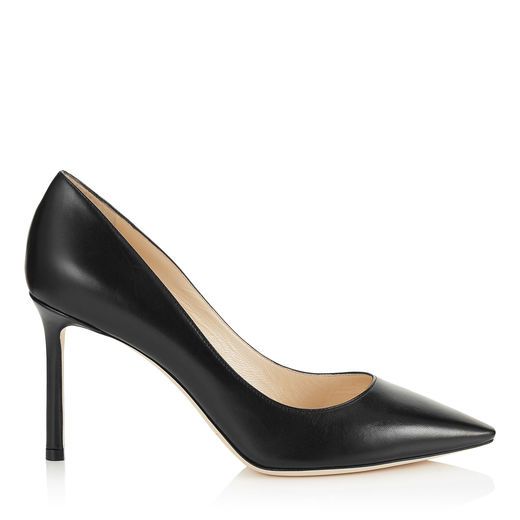 Women'S Romy 100 Patent Leather High-Heel Pointed Toe Pumps, Black from 24 SÈVRES