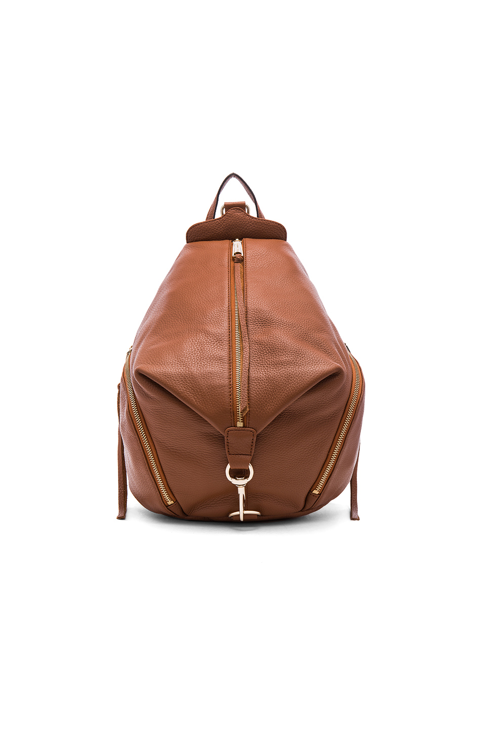 Julian Leather Backpack, Almond