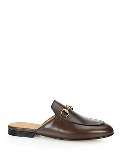 Gucci Brown Princetown Slippers 81kn935Syf