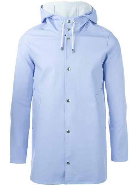 Blue Stockholm Raincoat