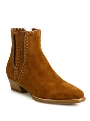 Woman Presley Suede Ankle Boots Light Brown, Luggage