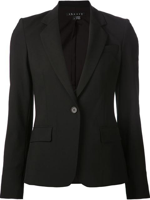 Ladies Black Edition Custom Gabe Jacket from Theory