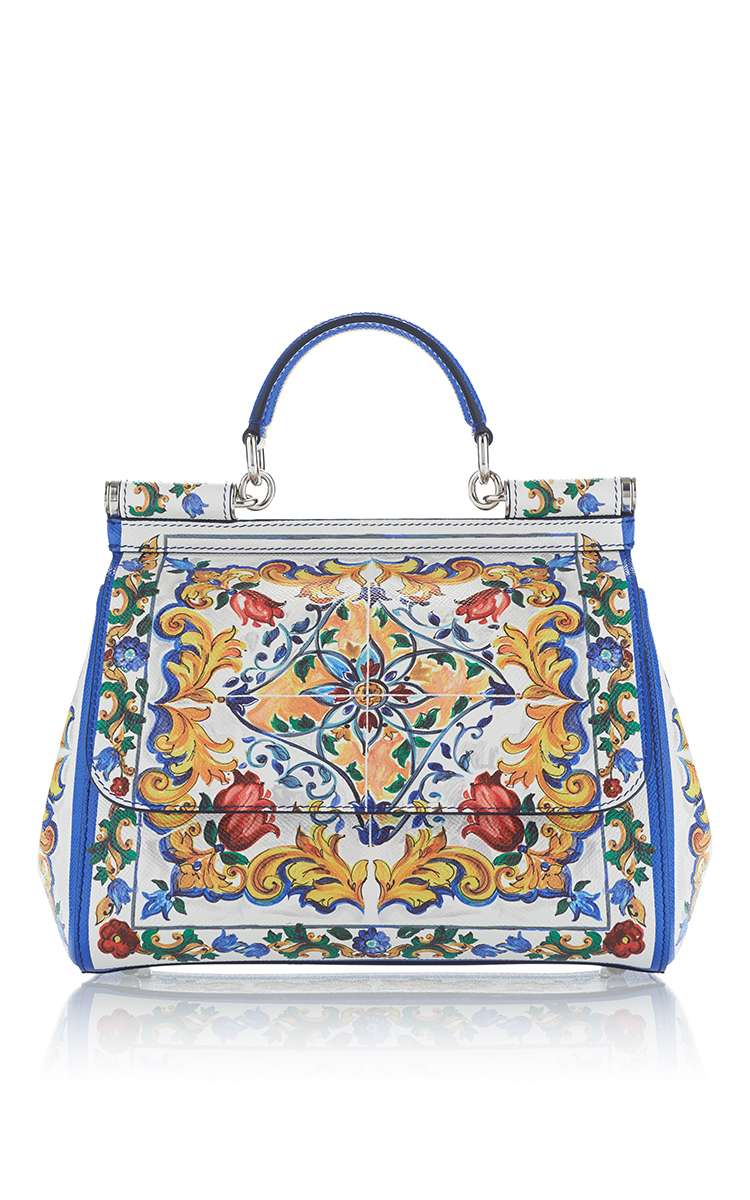 Sicily printed shoulder bag - Multicolour Dolce & Gabbana bjaItHqD