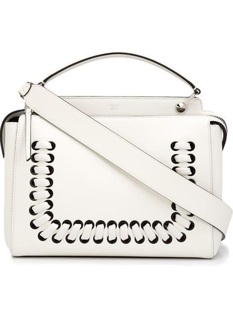 Fendi 'Fashion Show Dotcom' Tote - White